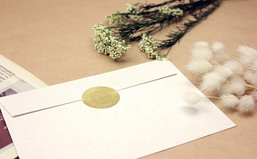 手紙(フリー写真)