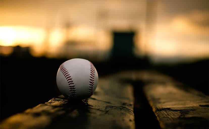 野球ボール(フリー写真)