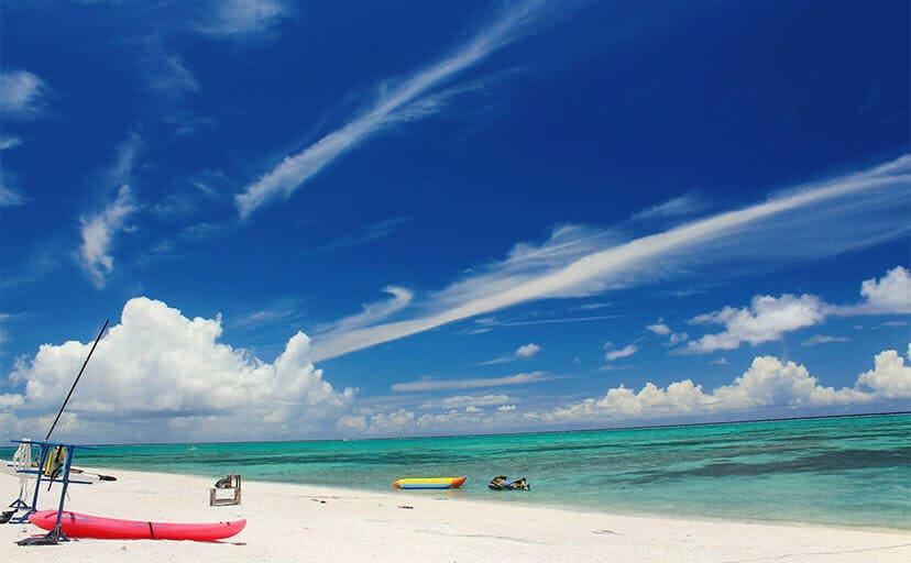 沖縄のビーチ(フリー写真)