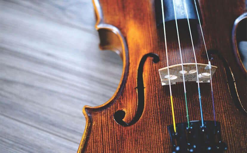 バイオリン(フリー写真)