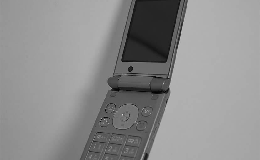 初期の携帯電話(フリー写真)