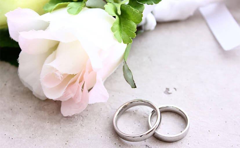 結婚指輪(フリー写真)