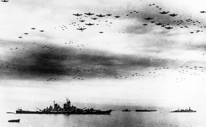 太平洋戦争(フリー写真)
