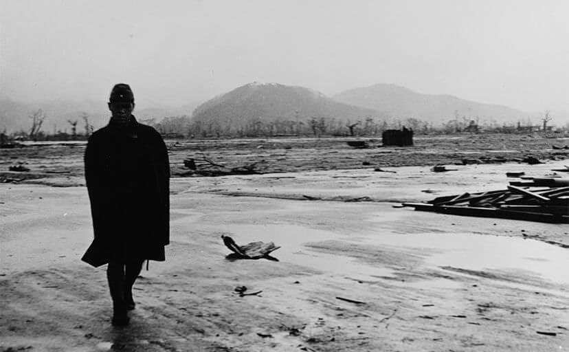 旧日本兵の方(フリー写真)