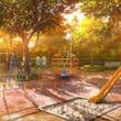 公園(フリーイラスト)