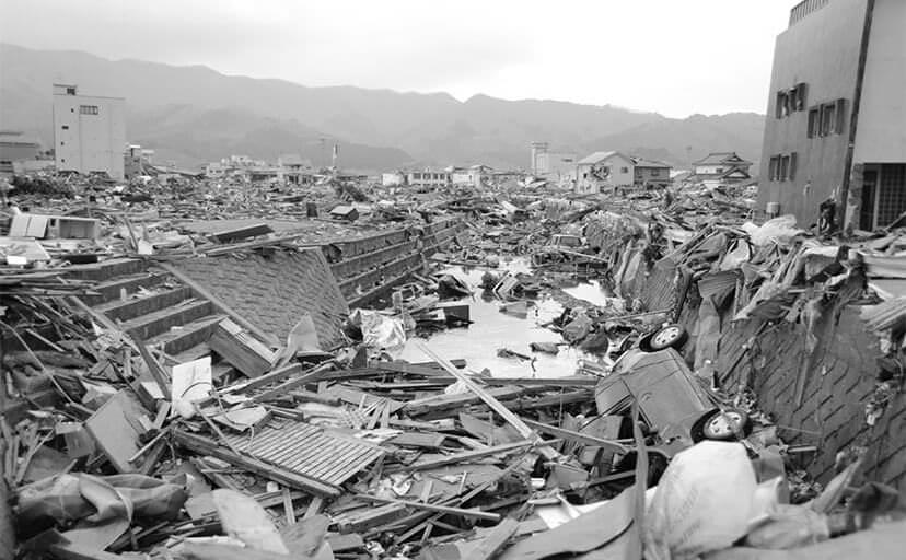 震災(フリー写真)