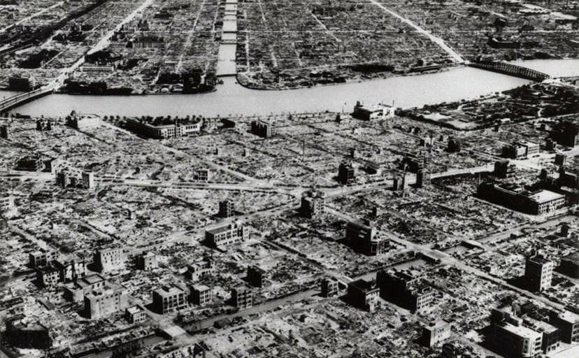 終戦時の東京(フリー写真)