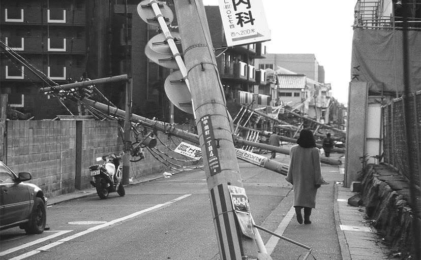 阪神・淡路大震災(フリー写真)