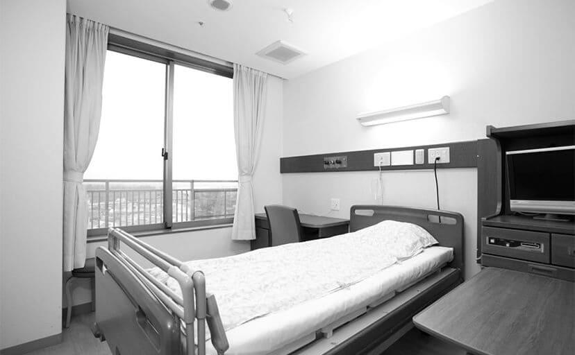 病室(フリー写真)