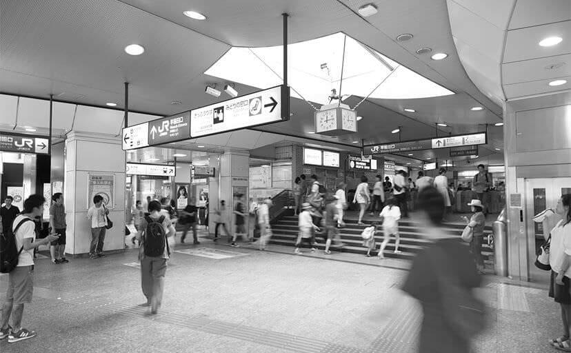 駅(フリー写真)