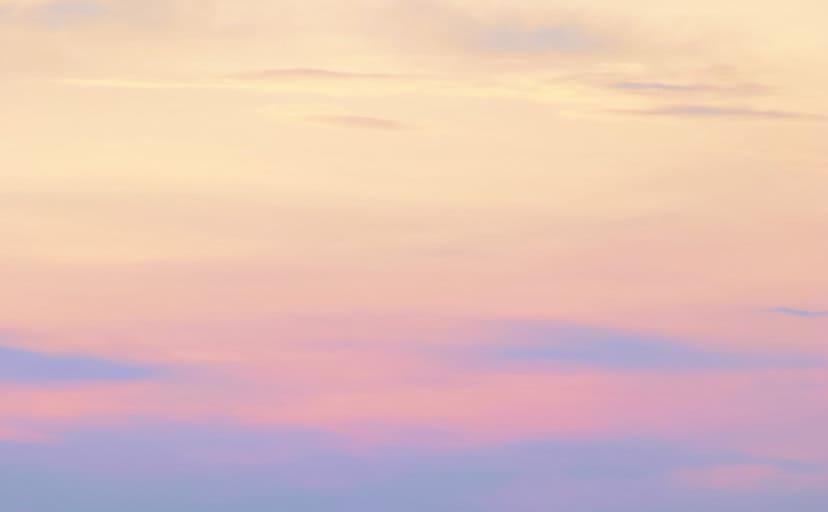 朝焼け(フリー写真)