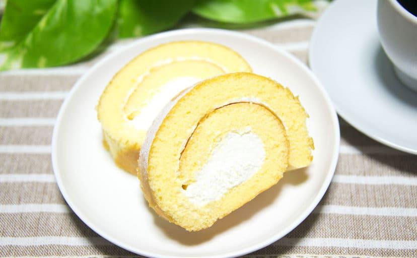 ロールケーキ(フリー写真)
